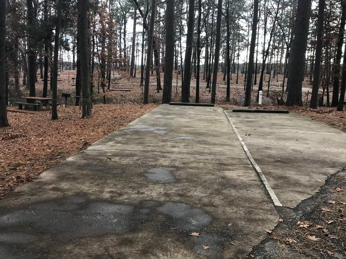 RV pad with water and elecrtic hookupsSite 40