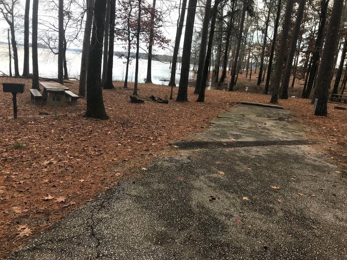 RV pad with water and electric hookupsSite 41