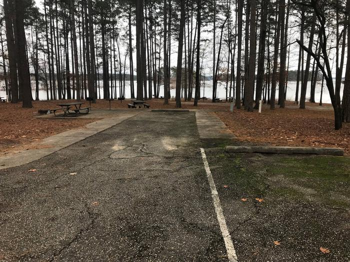 RV pad with water and electric hookupsSite 46
