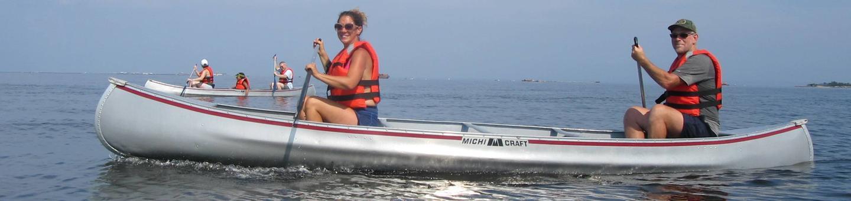 Gateway National Recreation Area - Sandy Hook Canoe CruiseCanoeing on the Sandy Hook Bay.