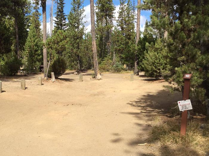 South CampgroundSite 10