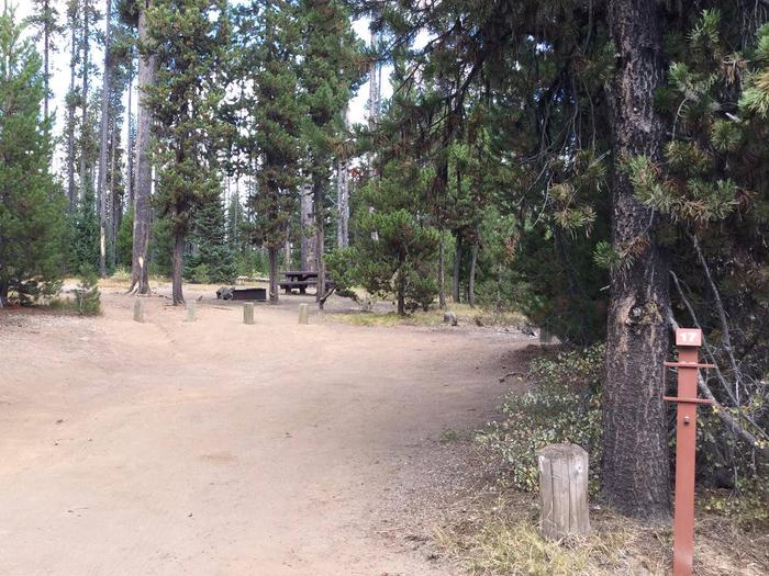 South CampgroundSite 17