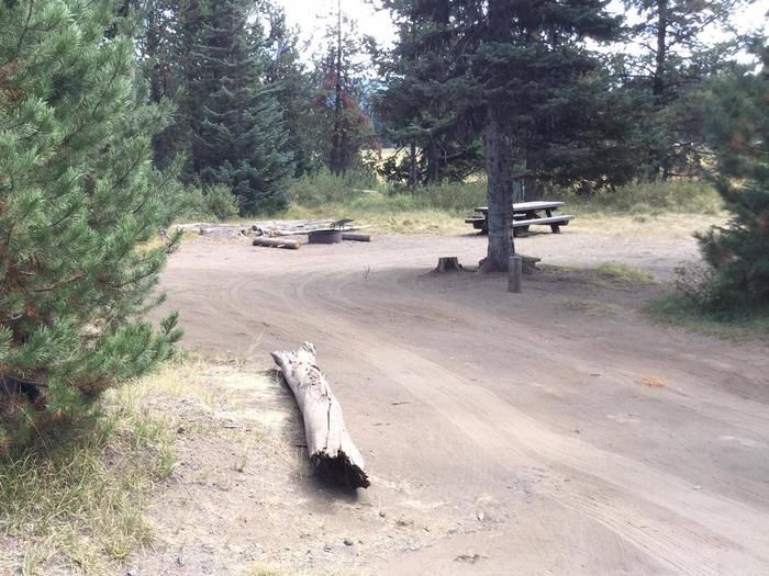 South CampgroundSite 22