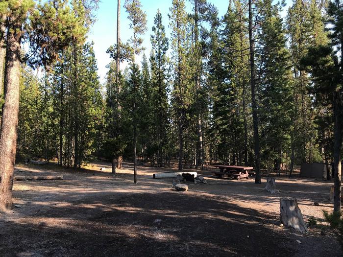 Elk Lake CampgroundSite 4