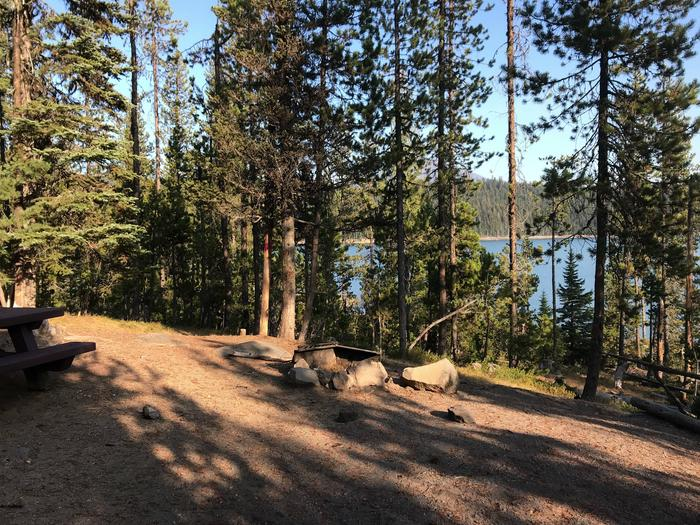 Elk Lake CampgroundSite 17