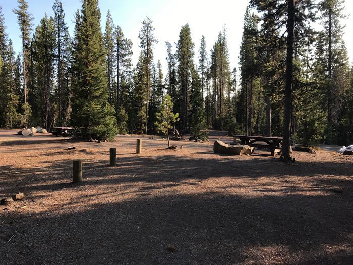 Elk Lake CampgroundSite 22