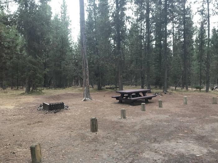 Lava Lake CampgroundSite 10