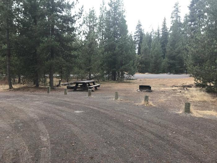 Lava Lake CampgroundSite 21