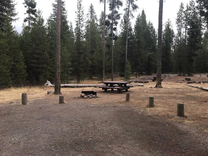 Lava Lake CampgroundSite 22
