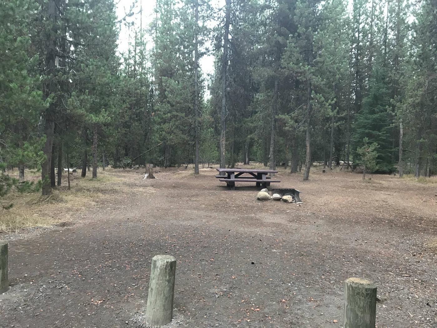 Lava Lake CampgroundSite 34