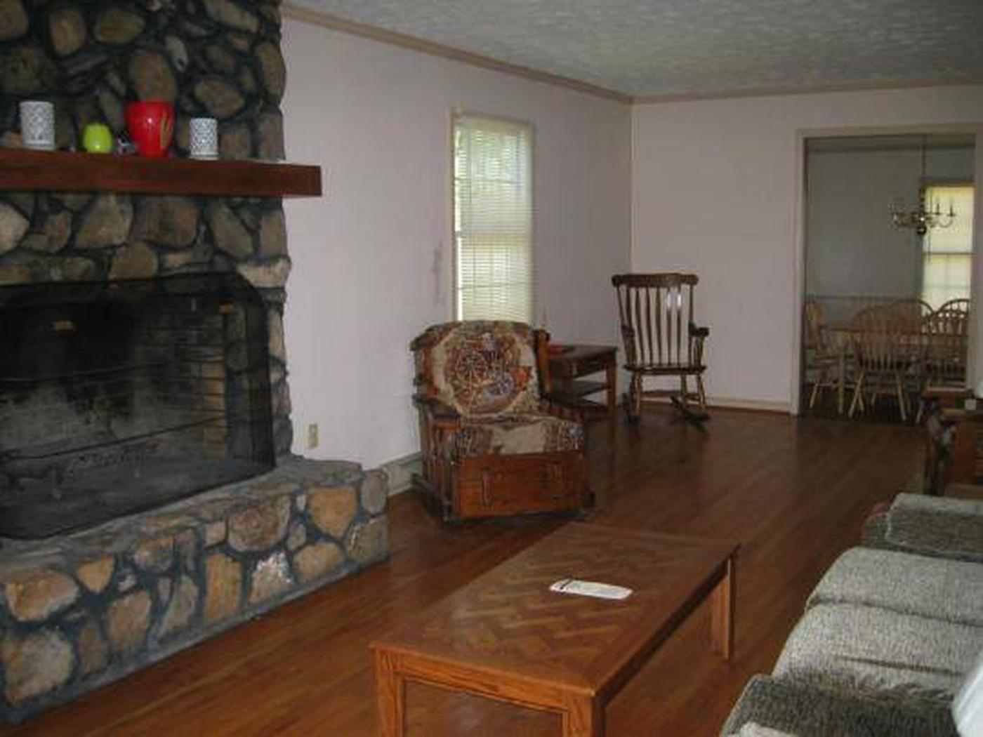 Sunrise Cabin Living Room