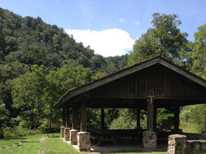 Raven Cliff Picnic Shelter