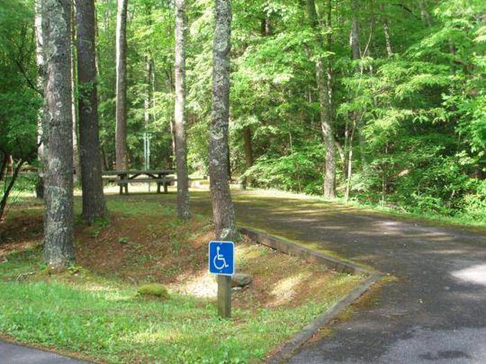 Hurricane Campground Accessible Site Hurricane Campground Accessible Site