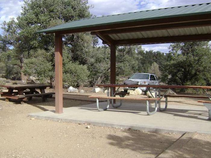 Cedar Flat Group CampCamp Noren  Shade Ramada