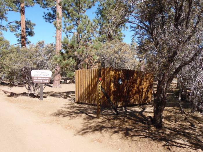 Tanglewood open air bathroomTanglewood open air vault bathroom