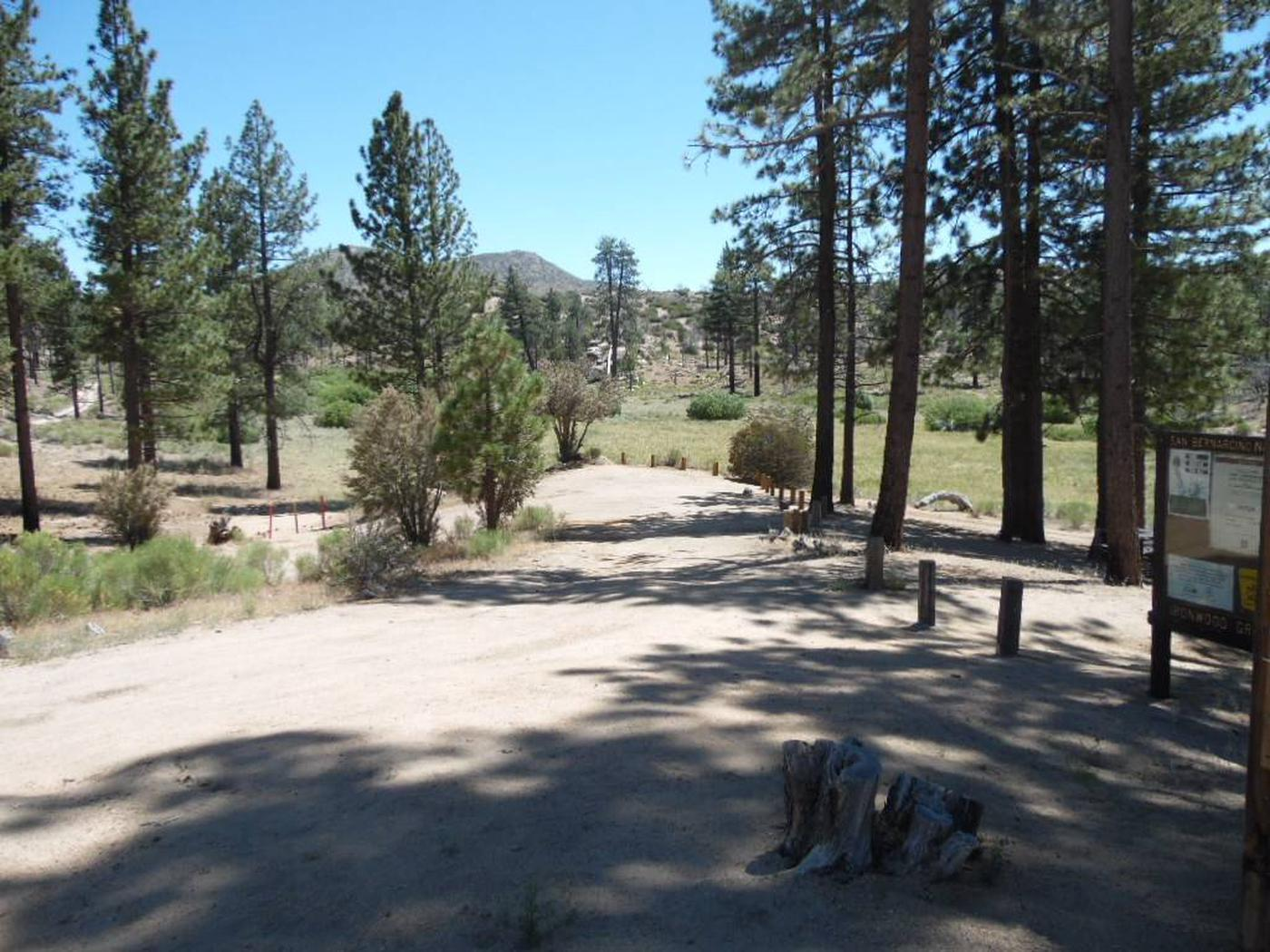 Scenic View at Ironwood Group Camp