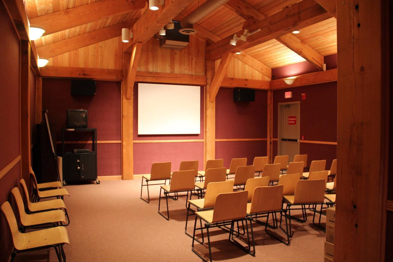Burgess Junction Visitor Center Video Room Video Room