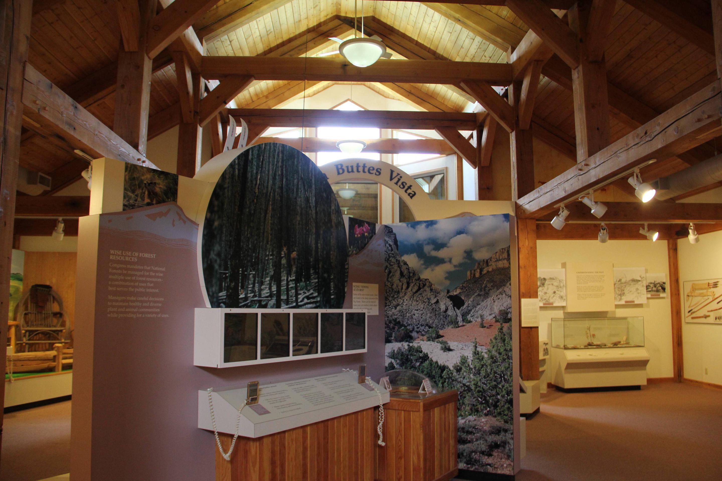Burgess Junction Visitor Center Display Display Room