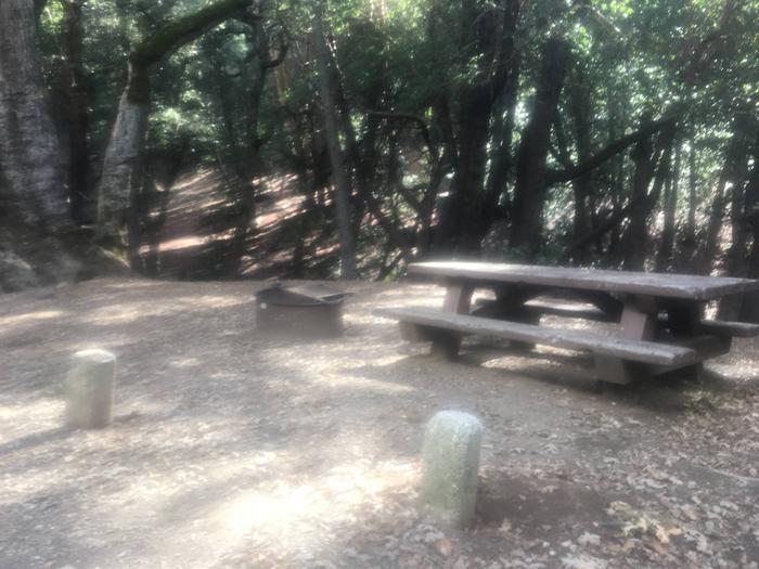 China Camp CampgroundSite 3