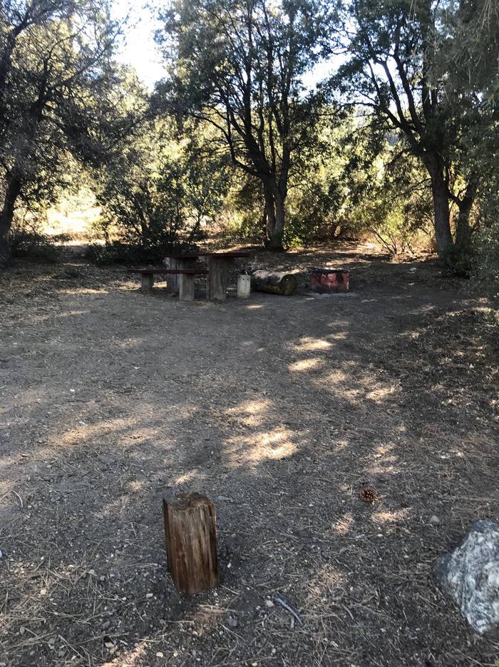 Chuchupate CampgroundSite 9