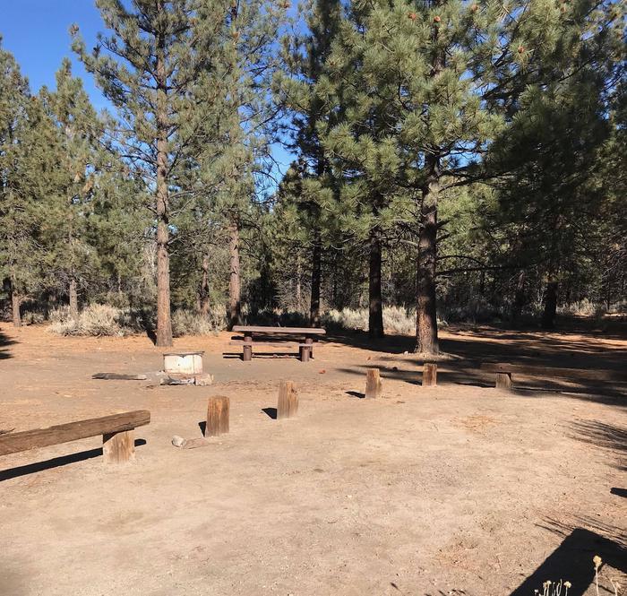Chuchupate CampgroundSite 23