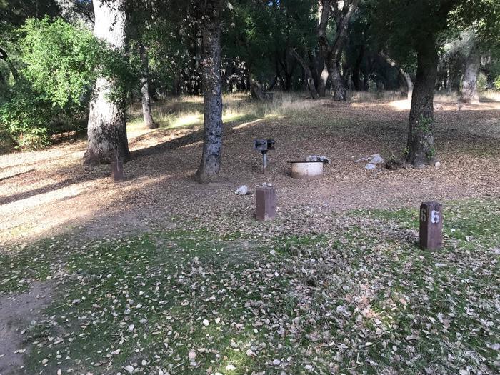 Escondido Campground Site 006
