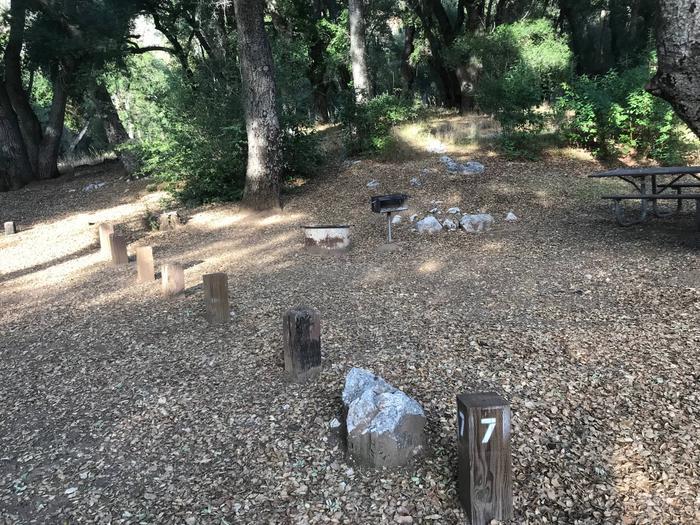 Escondido Campground Site 007