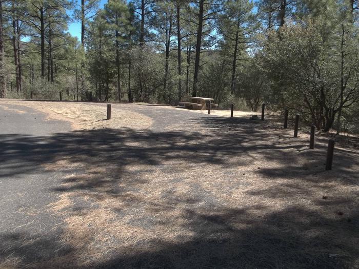Hilltop Campground Campsite 1