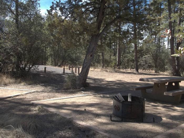 Hilltop Campground Campsite 7