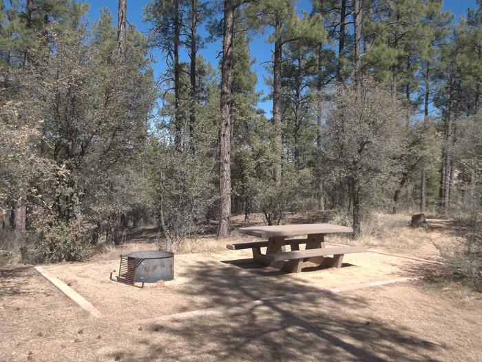 Hilltop Campground Campsite 8