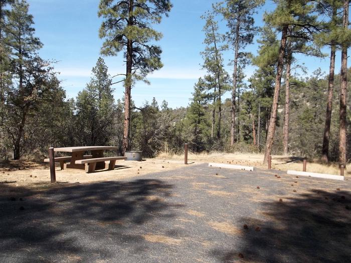 Hilltop Campground Campsite 15