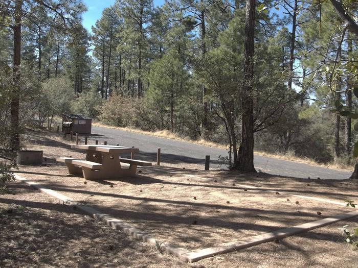 Hilltop Campground Campsite 16