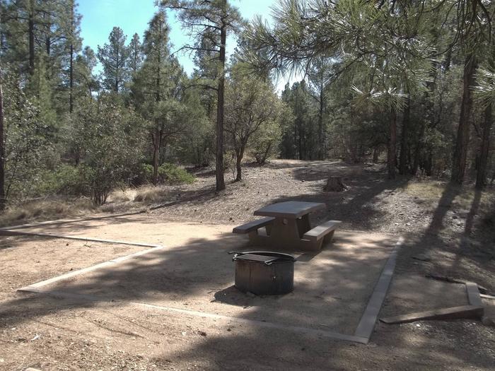 Hilltop Campground Campsite 18