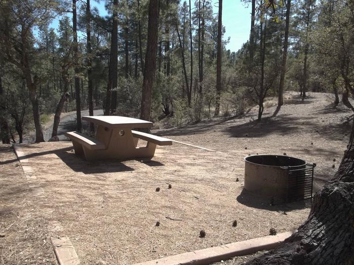 Hilltop Campground Campsite 17