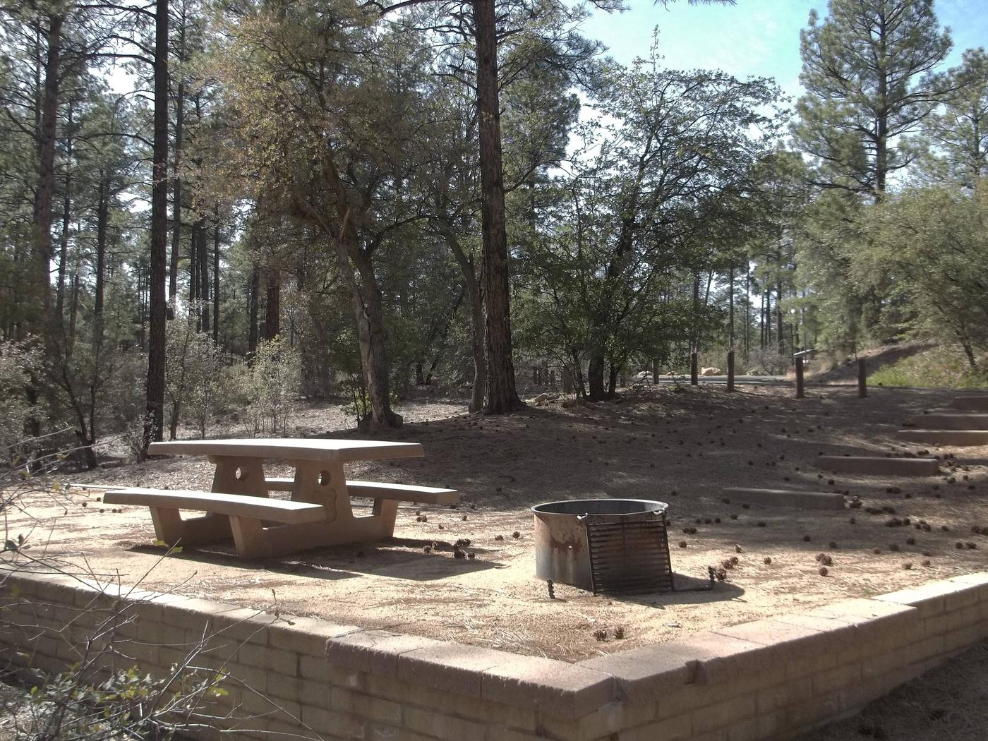 Hilltop Campground Campsite 20