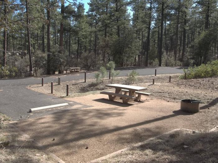 Hilltop Campground Campsite 21
