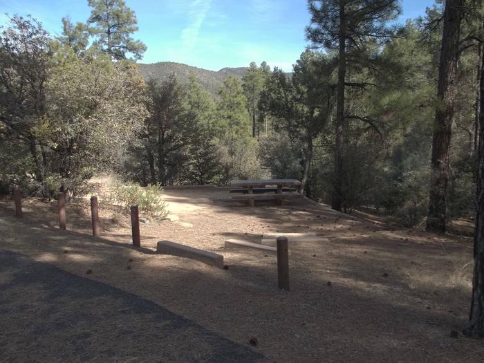 Hilltop Campground Campsite 22