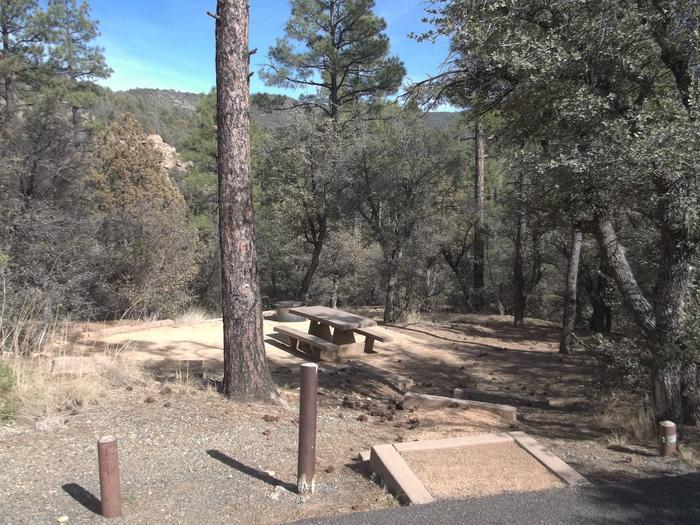 Hilltop Campground Campsite 23