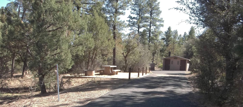 Hilltop Campground Campsite 32