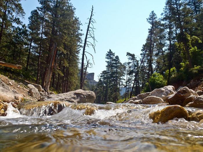 Black Canyon CampgroundBeautiful stream flowing at the Black Canyon Campground