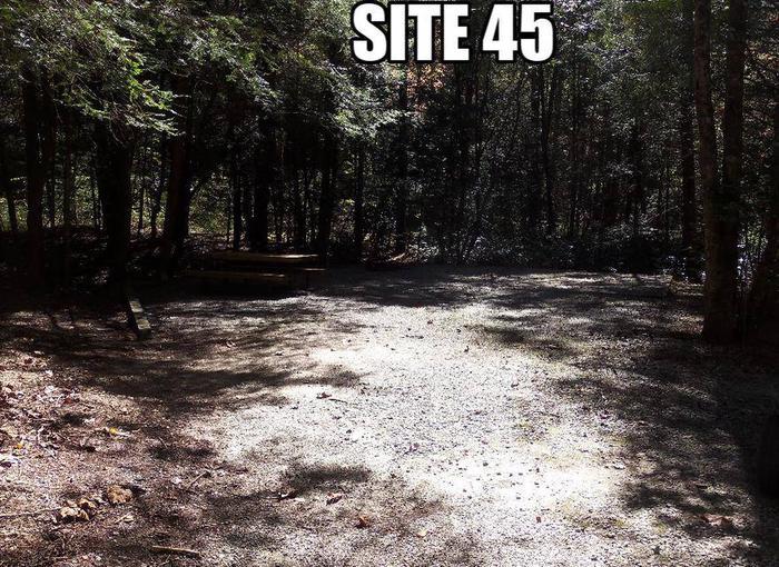 Lake Rabun Beach Recreation Area Site 45