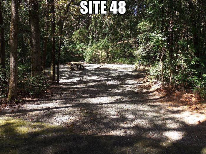 Lake Rabun Beach Recreation Area Site 48