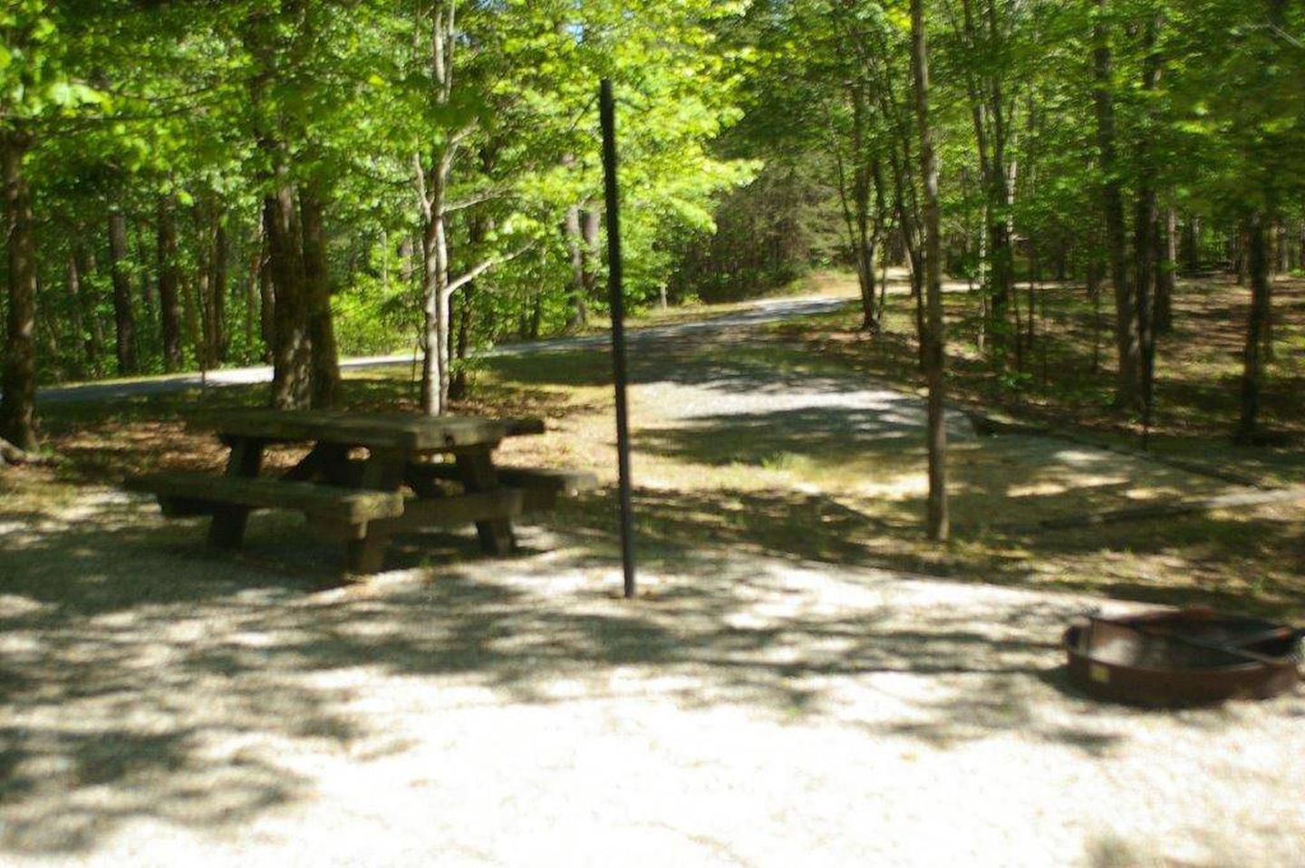 Lake Russell Rec Area  Site 27
