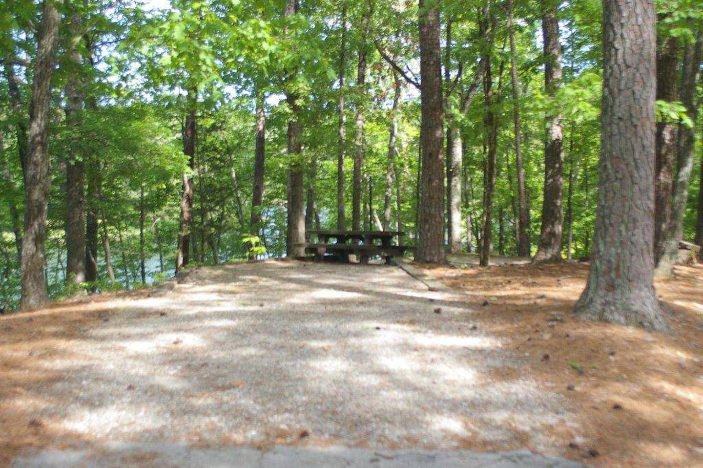 Lake Russell Rec Area  Site 35