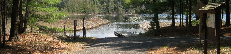 Boat Landing at Laurel Lake