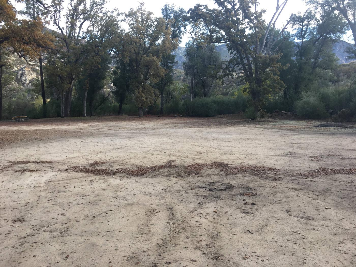 Memorial Campground Site 1