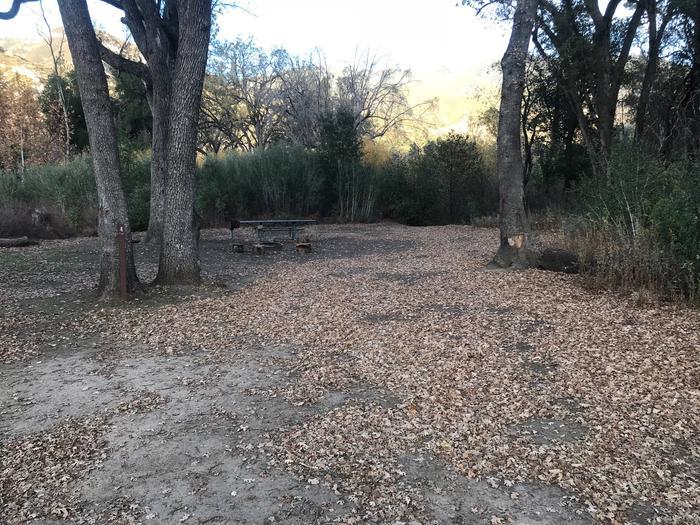 Memorial Campground Site 4