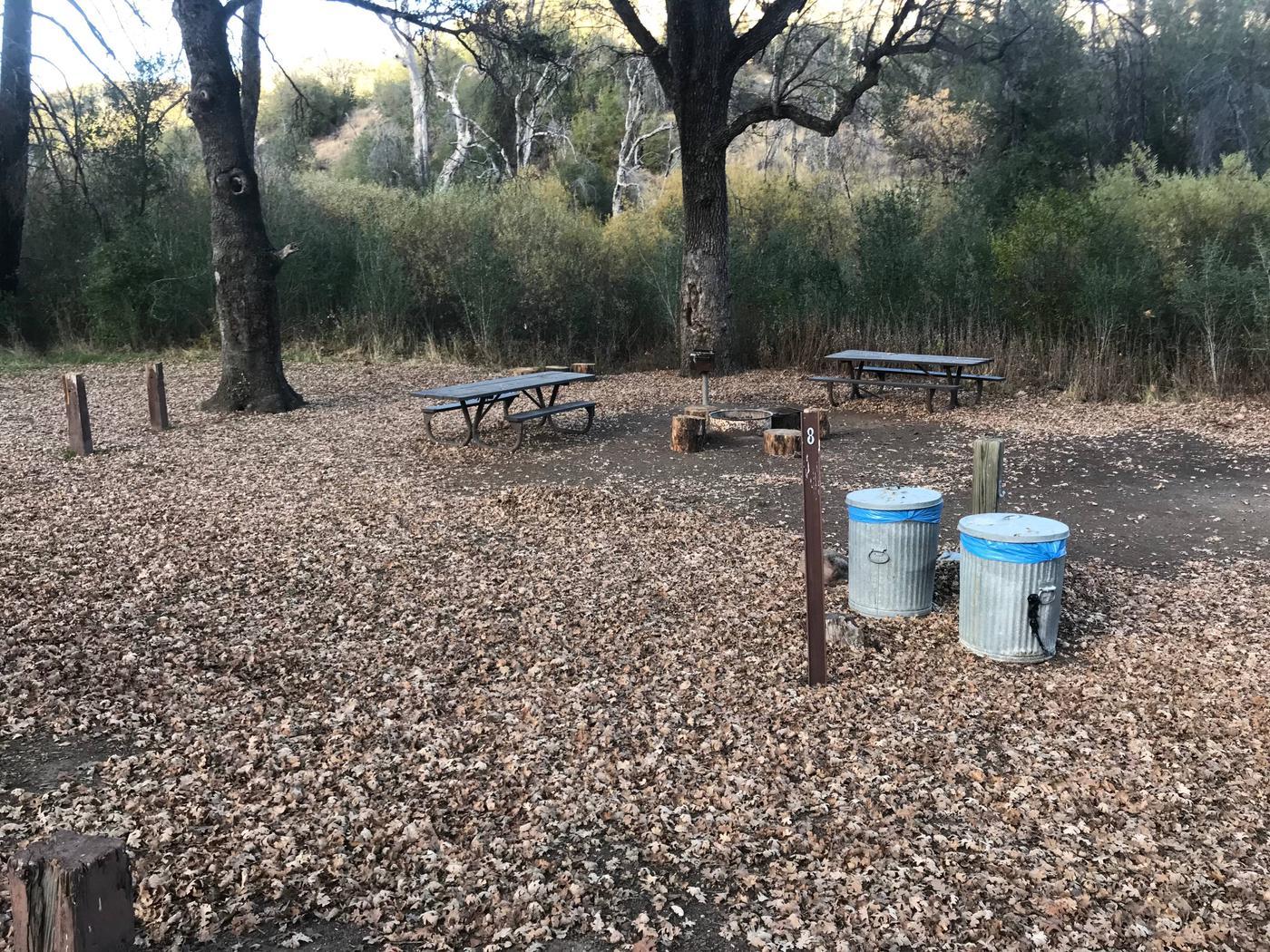 Memorial Campground Site 8
