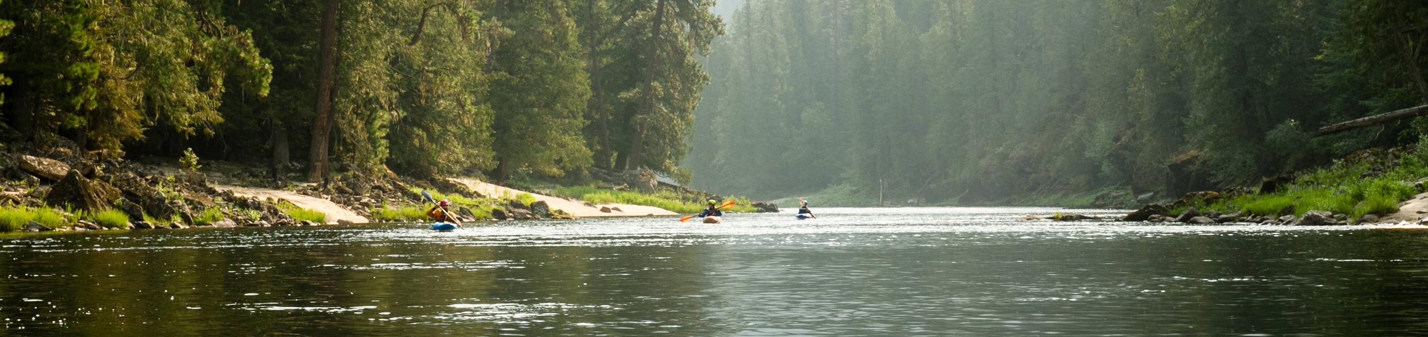 Floating on the Selway River