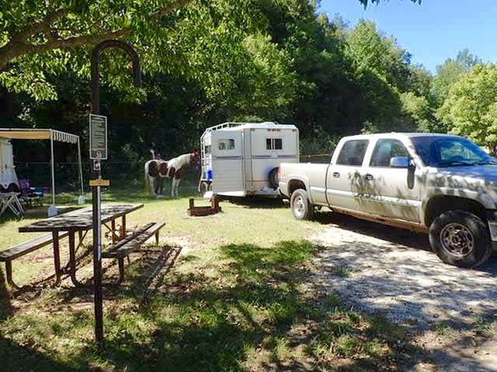 Steel Creek Horse Camp Site #30